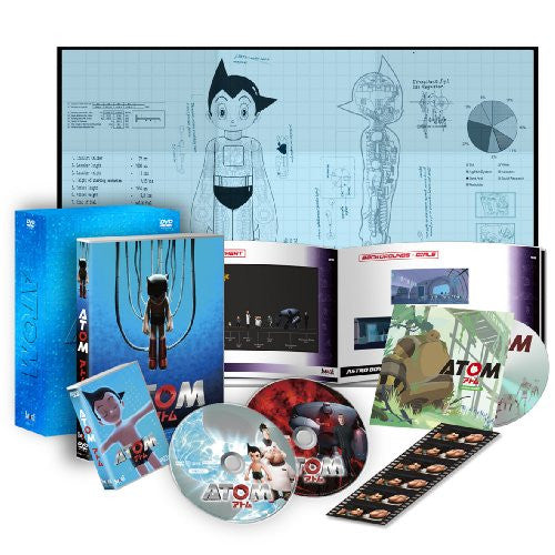 Image 1 for Astro Boy - Atom Premium Box [2DVD+CD-ROM+MicroSD Limited Edition]