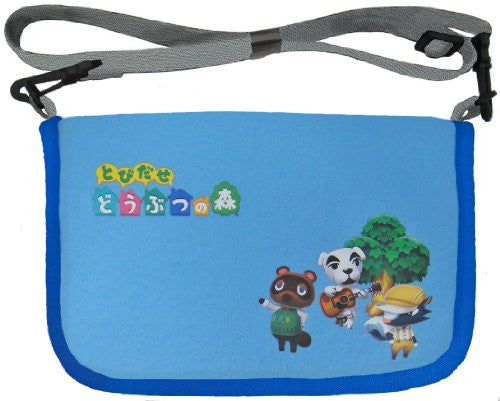 Image 1 for Dobutsu No Mori Possum Shoulder Bag for 3DS LL (Blue)