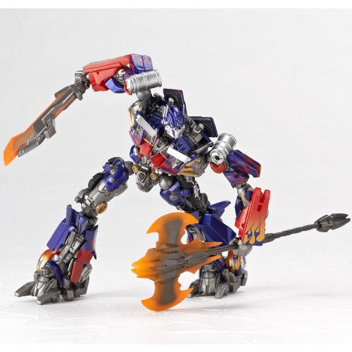 Image 12 for Transformers Darkside Moon - Convoy - Revoltech #040 - Revoltech SFX - Optimus Prime - Jetwing Equipment (Kaiyodo)