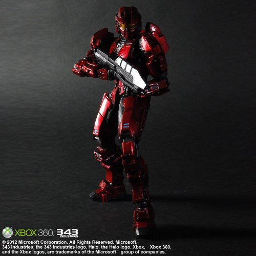 Image 2 for Halo: Combat Evolved - Spartan Mark V - Play Arts Kai - Red (Microsoft Square Enix)