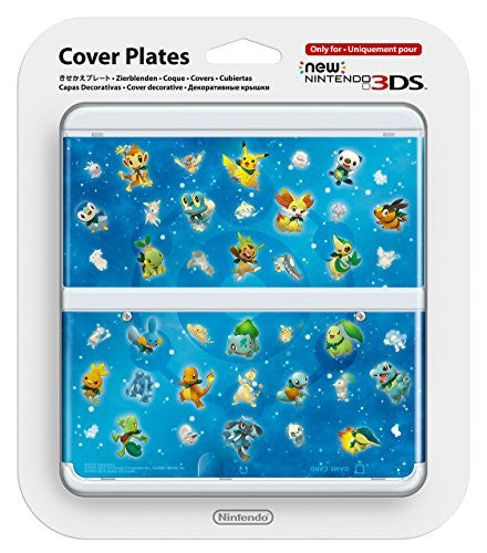Image 1 for New Nintendo 3DS Cover Plates No.063 (Pokémon)
