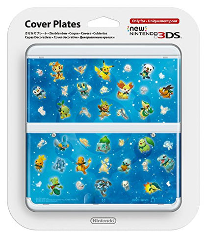 Image for New Nintendo 3DS Cover Plates No.063 (Pokémon)