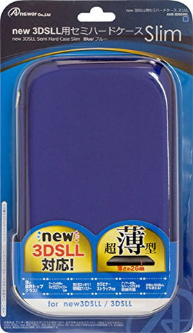 Image for Semi Hard Case Slim for New 3DS LL (Blue)