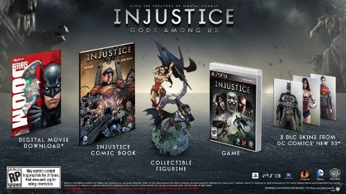 Image 1 for Injustice: Gods Among Us Collectors Edition