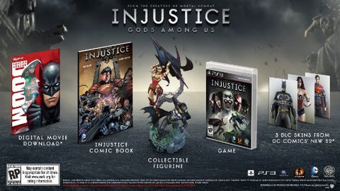 Image for Injustice: Gods Among Us Collectors Edition