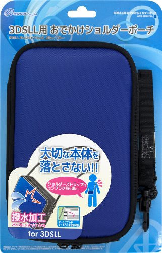 Image 1 for Odekake Shoulder Pouch for 3DS LL (Blue)