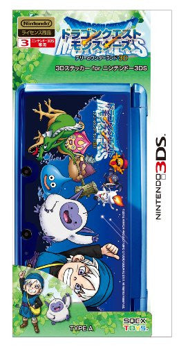 Image 2 for Dragon Quest Monsters Terry no Wonderland 3D Sticker for Nintendo 3DS [Type A]