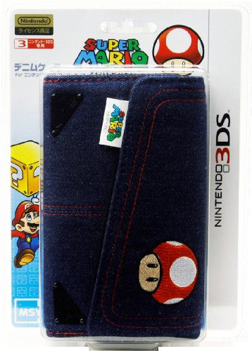 Image 4 for Denim Case for 3DS (Toadstool Edition)