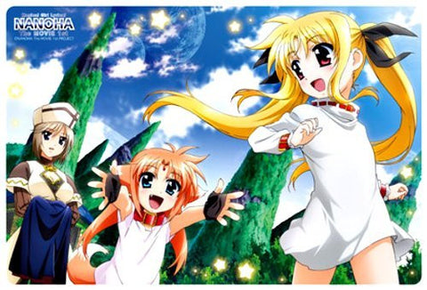 Image for Mahou Shoujo Lyrical Nanoha The Movie 1st - Arf - Fate Testarossa - Rinis - Large Format Mousepad - Mousepad (Broccoli)