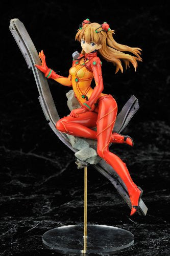 Image 2 for Evangelion Shin Gekijouban - Souryuu Asuka Langley - 1/8 - Plug Suit Test Type Ver. (Alter)