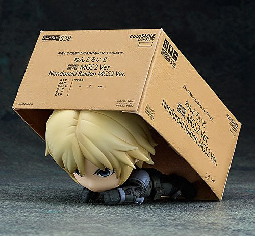 Image 4 for Metal Gear Solid 2: Sons of Liberty - Raiden - Nendoroid #538 (Good Smile Company)