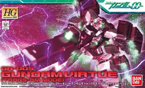 Image 3 for Kidou Senshi Gundam 00 - GN-005 Gundam Virtue - HG00 #34 - 1/144 - Trans-Am Mode, Gloss Injection Ver. (Bandai)