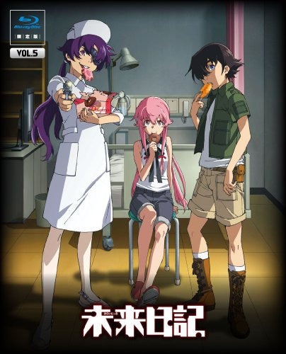 Image 2 for Future Diary / Mirai Nikki Vol.5 [Blu-ray+CD Limited Edition]