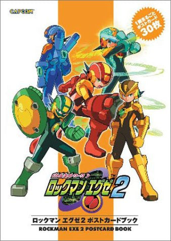Image 1 for Megaman Exe 2 Postcard Book