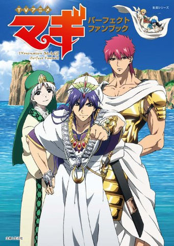Image for Magi Labyrinth Of Magic Tv Anime Perfect Fan Book