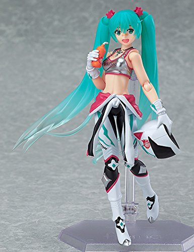 Image 5 for GOOD SMILE Racing - Vocaloid - Hatsune Miku - Figma #233 - EV MIRAI ver., Racing 2013 (Max Factory)