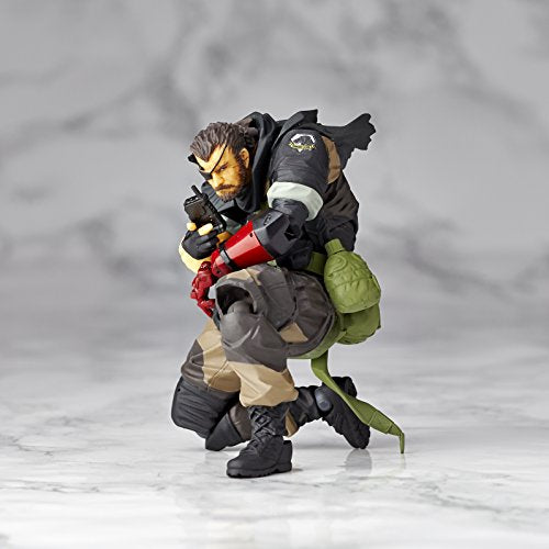 Image 2 for Metal Gear Solid V: The Phantom Pain - Naked Snake - Revolmini rm-012 - Revoltech - Venom ver. (Kaiyodo)