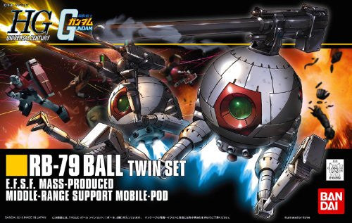 Image 3 for Kidou Senshi Gundam - RB-79 Ball - HGUC #114 - 1/144 - Twin Set (Bandai)