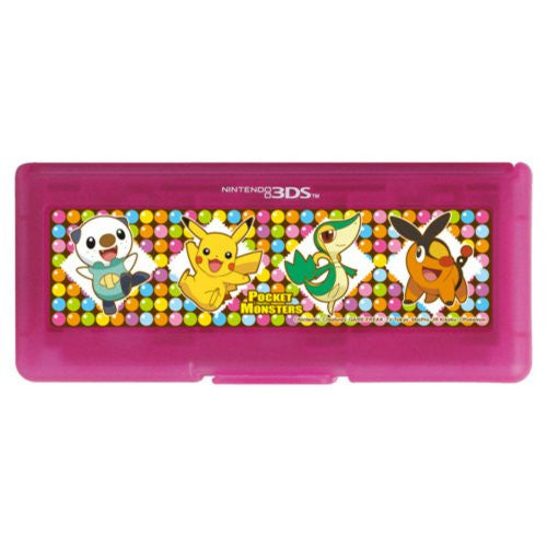 Image 2 for Pocket Monster Card Case 6 Seal Set for Nintendo 3DS (Best Wish Version)