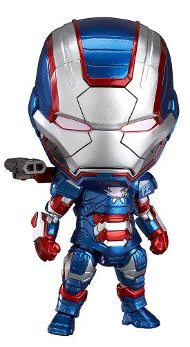 Image 1 for Iron Man 3 - Iron Patriot - Nendoroid #392 - Full Action (Good Smile Company)