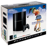 PlayStation3 Console (HDD 20GB Model) w/ Minna no Golf 5 - 110V - 1