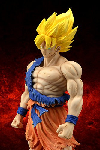 Image 5 for Dragon Ball Z - Son Goku SSJ - Gigantic Series - Damage ver. (X-Plus)