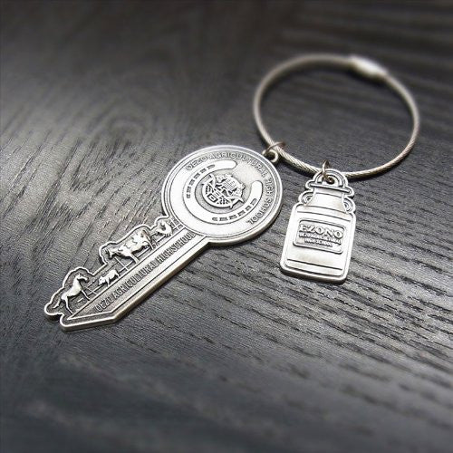 Image 6 for Gin no Saji - Keyholder - Oezo Agricultural High School Kobaibu - Fake Keyring (empty)
