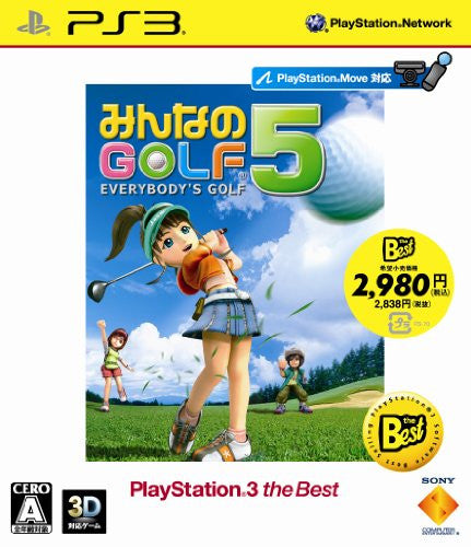 Image 1 for Minna no Golf 5 (PlayStation3 the Best)