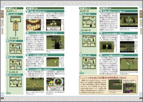 Image 3 for Nintendo Dream The Legend Of Zelda Spirit Tracks Strategy Guide Book / Ds