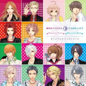 Image 1 for BROTHERS CONFLICT Passion Pink&Brilliant Blue Original Soundtrack