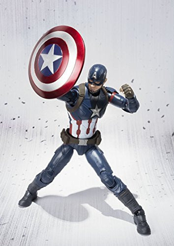 Image 5 for Captain America: Civil War - Captain America - S.H.Figuarts (Bandai)