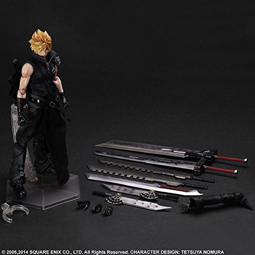 Image 7 for Final Fantasy VII: Advent Children - Cloud Strife - Play Arts Kai (Square Enix)