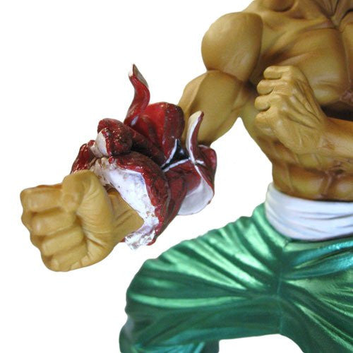 Image 5 for Grappler Baki - Retsu Kaioh - Real Detail Figure - Limited Edition (Spider Web)