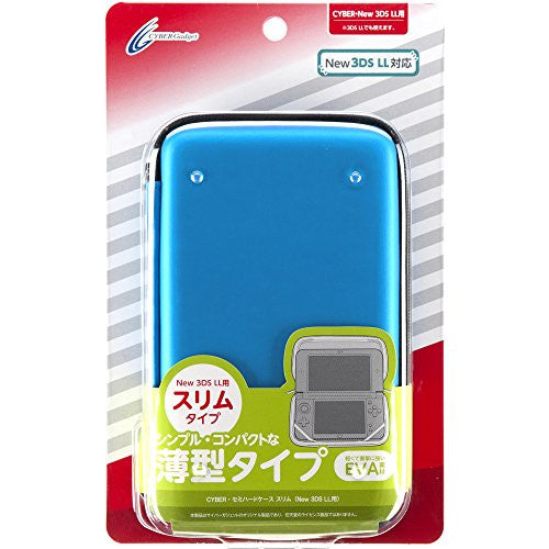 Image 1 for Semi Hard Case Slim for New 3DS LL (Blue)