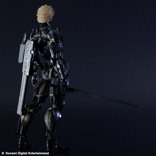 Image 5 for Metal Gear Rising: Revengeance - Raiden - Play Arts Kai - Black Armour ver. (Square Enix)