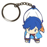 Thumbnail 1 for Vocaloid - Kaito - Tsumamare - Rubber Keychain - Keyholder (Cospa)