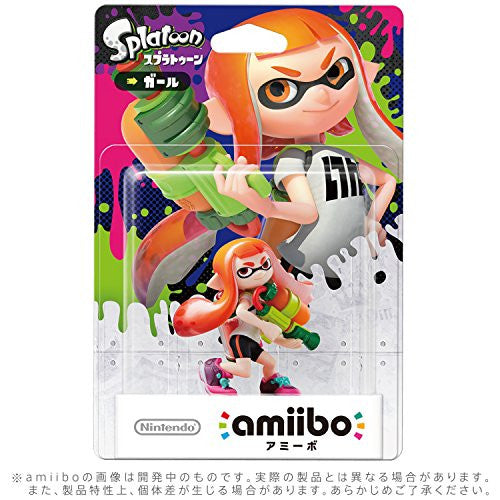 Image 2 for amiibo Splatoon Series Figure (Girl)