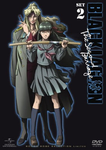 Black Lagoon The Second Barrage Dvd Set 2