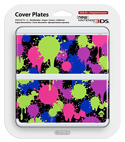 New Nintendo 3DS Cover Plates No.060 (Splatoon)
