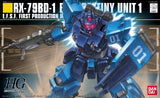 Thumbnail 1 for Kidou Senshi Gundam: Dai 08 MS Shotai - RX-79BD-1 GM Blue Destiny Unit 1 - HGUC 080 - 1/144 (Bandai)