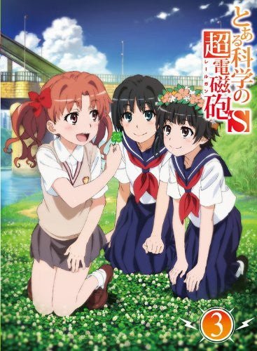 Image 2 for To Aru Kagaku No Railgun S / A Certain Scientific Railgun S Vol.3 [Limited Edition]