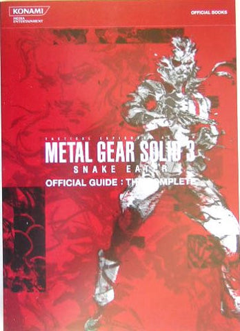 Image for Metal Gear Solid 3: Snake Eater The Complete (Konami Official Books)