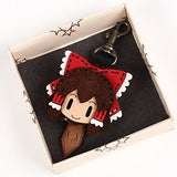 Thumbnail 2 for Touhou Project - Hakurei Reimu - Hand Made Leather Key Cap