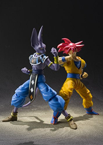 Image 2 for Dragon Ball Z: Kami to Kami - Son Goku SSJ God - S.H.Figuarts (Bandai)