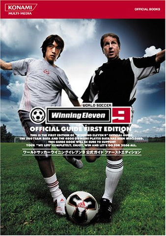 Image for Winning Eleven 9 Official Guide First Edition Konami Official Books