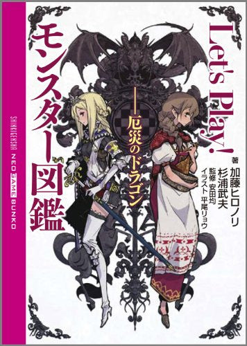 Image 1 for Let's Play! Monter Zukan Yakusai No Dragon Encyclopedia Art Book