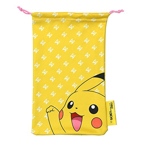 Image 3 for Pokemon Cleaner Pouch for New 3DS LL (Pikachu)