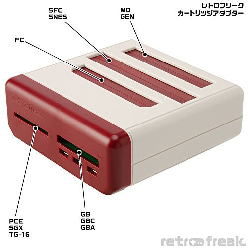 Image 9 for Retro Freak Premium - Limited Edition (incl. 2 Controllers, Retro Controller Adapter, Retro Colorway)