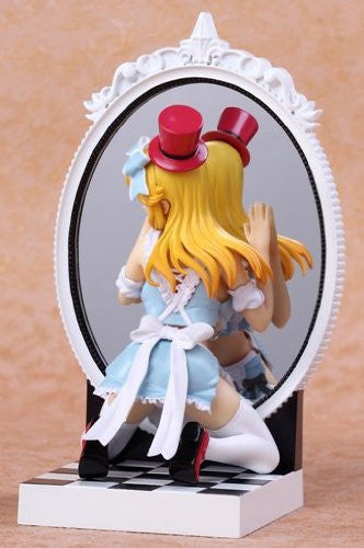 Image 5 for Kagami no Kuni no Alice - Alice - Fairy Tale Figure - 1/8 - Blue Dress ver. (Kaitendoh, Lechery)