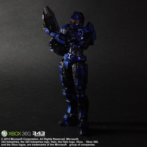 Image 5 for Halo: Combat Evolved - Spartan Mark V - Play Arts Kai - Blue (Microsoft Square Enix)